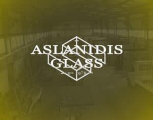 Logo Aslanidis Glass τζαμια κρυσταλλα καθρεπτες